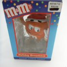 M&M's Character Holiday Christmas Tree Ornament Orange tbleu1