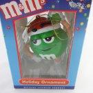 M&M's Character Holiday Christmas Tree Ornament Green tbleu1