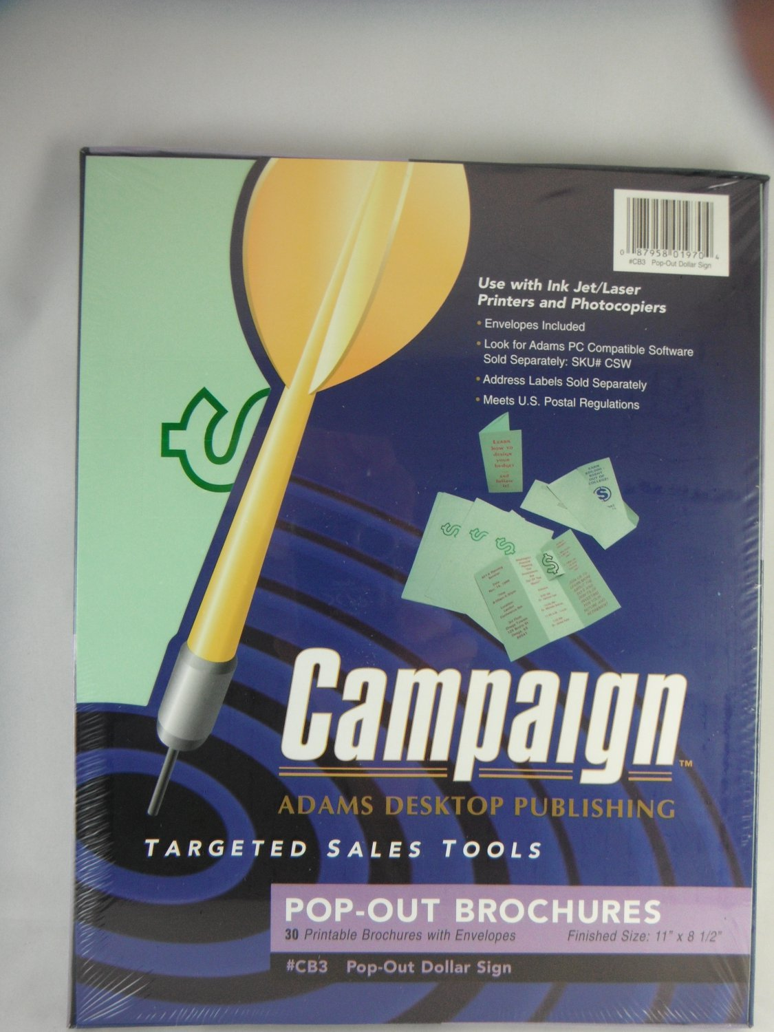 Campaign Adams Desktop Publishing Printable Brochures With Envelopes tblhx1