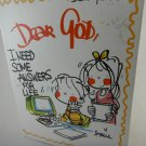 Dear God I Need Some Answers For Life Children's Book by Allied Publishing tblza1