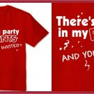 Theres a party in my Pants ferrell anchorman T-Shirt small