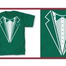 Irish leprecon St. patric tux green T-Shirt MEDIUM