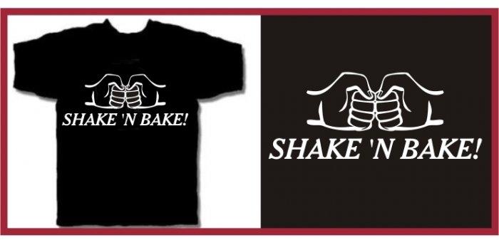 SHAKE 'N BAKE ferrell Taladega T-SHIRT black medium