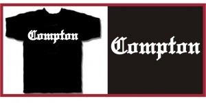COMPTON EAZY E HIP HOP NWA T-SHIRT BLACK XXL