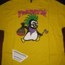 Triumvir Penguin Yellow Mens T Shirt - Size XXL