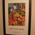 Joseph Craig English 'Morning Market' Kraskin Garner Gallery Poster