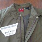 Oakley Green Mens Windbreaker Jacket - Size XL