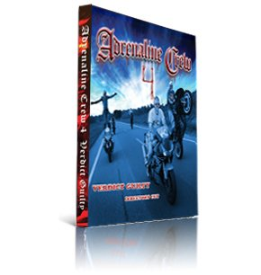 Adrenaline Crew 4 - Verdict Guilty Directors Cut Motorcycle Stunt Documentary DVD Video