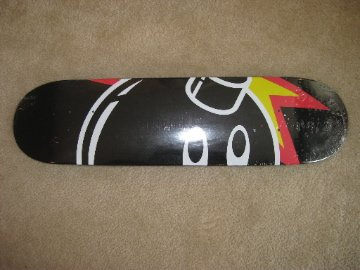 The Hundreds Adam Bomb Limited Edition Skate Deck Skateboard Black White Jags