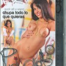 Suck All U Want/Chupa Todo Lo Que Quieras DVD Privado
