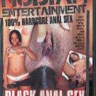 "Fuckhouse Nubian Entertainment ""Black Anal Sex"" DVD"