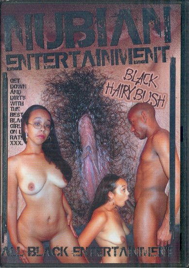 Fuckhouse Nubian Entertainment Black Hairy Bush DVD