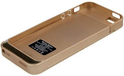 Battery Pack for iPhone 5S, iPhone 5 - Gold