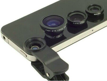 3-in-1 Photo Lens for iPhone 6 Plus, iPhone 6, iPhone 5S, iPhone 4S