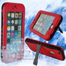 Waterproof Case for iPhone 6, iPhone 6S - Red