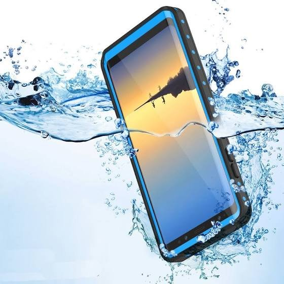 Waterproof Case for Samsung Galaxy Note 8 - Blue