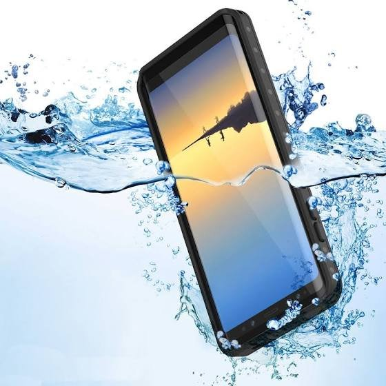 Waterproof Case for Samsung Galaxy Note 8 - Black