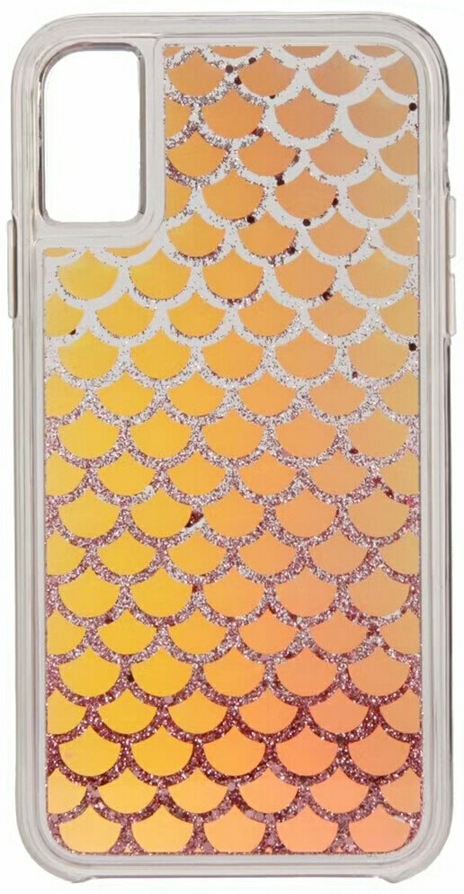 Clear Graphics Cover for iPhone X - Mermaid Tail