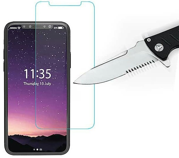 2.5D Tempered Glass Screen Protector for iPhone X (Minimum Order Quantity: 10 Pieces)