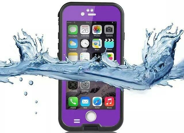 Purple Protective Case for iPhone 6/6S