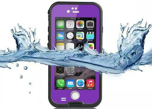 Waterproof Case for iPhone 6, iPhone 6S - Purple