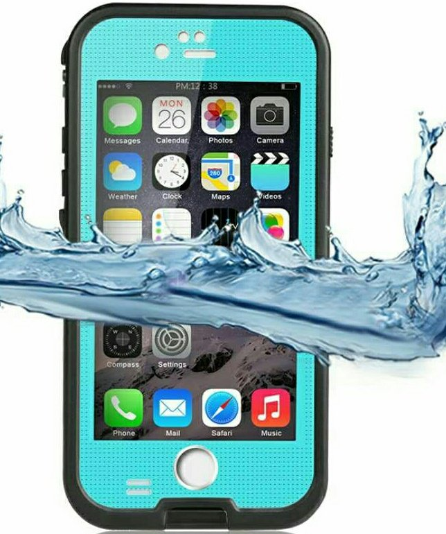 Waterproof Case for iPhone 6, iPhone 6S - Blue
