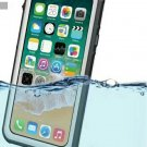 Snow-proof and Waterproof Case for iPhone X - Gray