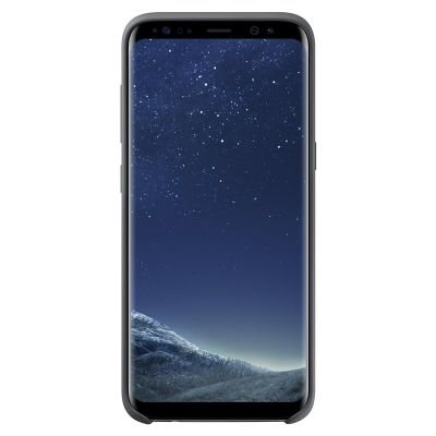 Silicone Cover for Samsung Galaxy S8 - Dark Grey