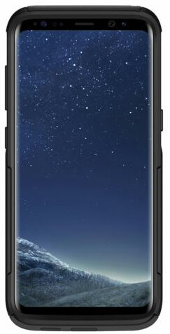 Black Commuter Case for Galaxy S8