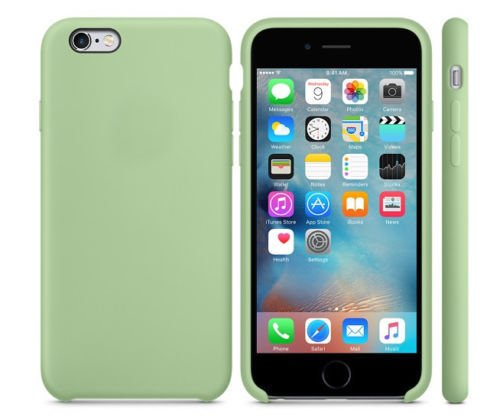 Silicone Cover for iPhone 6, iPhone 6S - Green