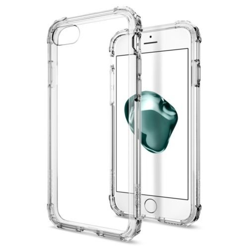 Clear Crystal Cover and Screen Protector for iPhone 7