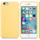 Silicone Cover for iPhone 6, iPhone 6S, Yellow