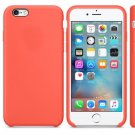 Silicone Cover for iPhone 6, iPhone 6S - Apricot