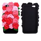Silicone Roses Case for iPhone 7 Plus