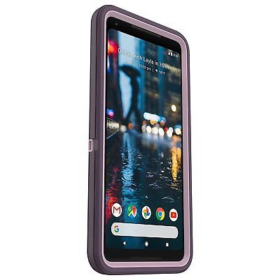 Defender Case with Belt Clip for Google Pixel 2 - Purple Nebula