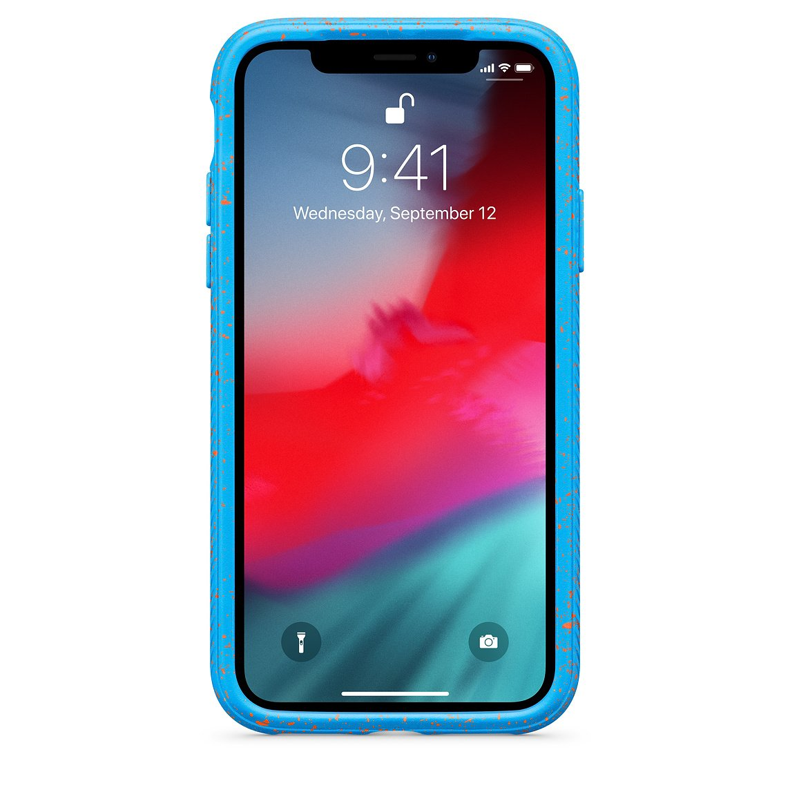 Traction Cover for iPhone XS - Electric Tide