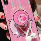 Beautiful Case for iPhone XS, iPhone X - Cartoon Pig