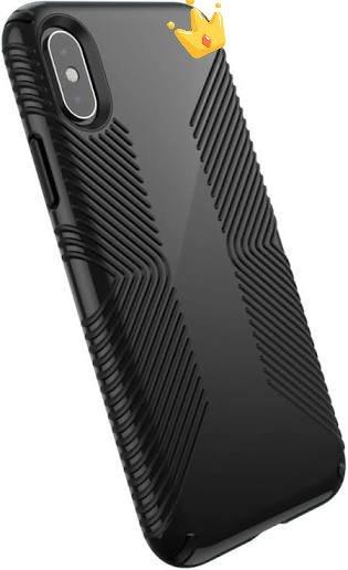 Presidio Grip Case for iPhone XS - Black