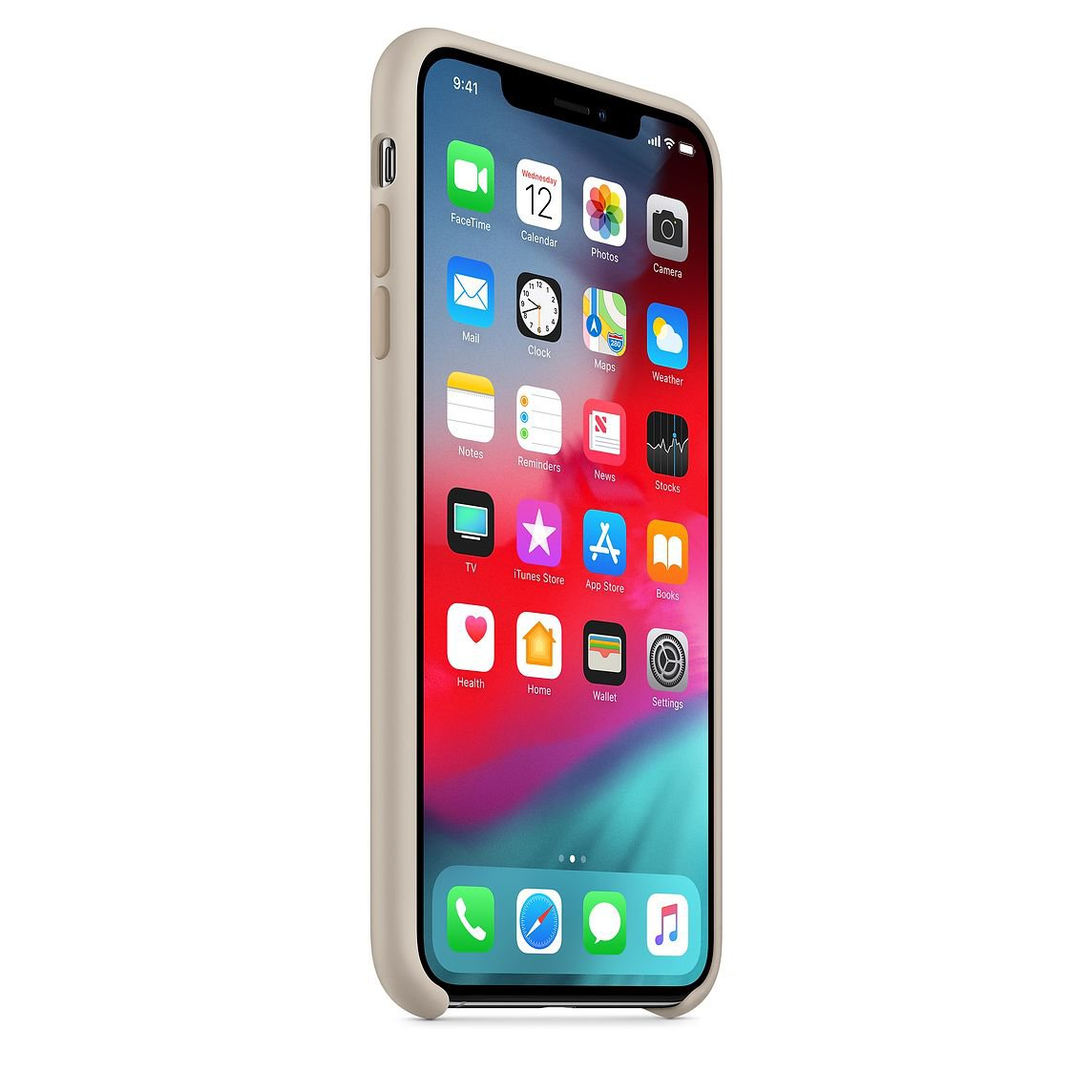 Stone Silicone Case for iPhone XS Max