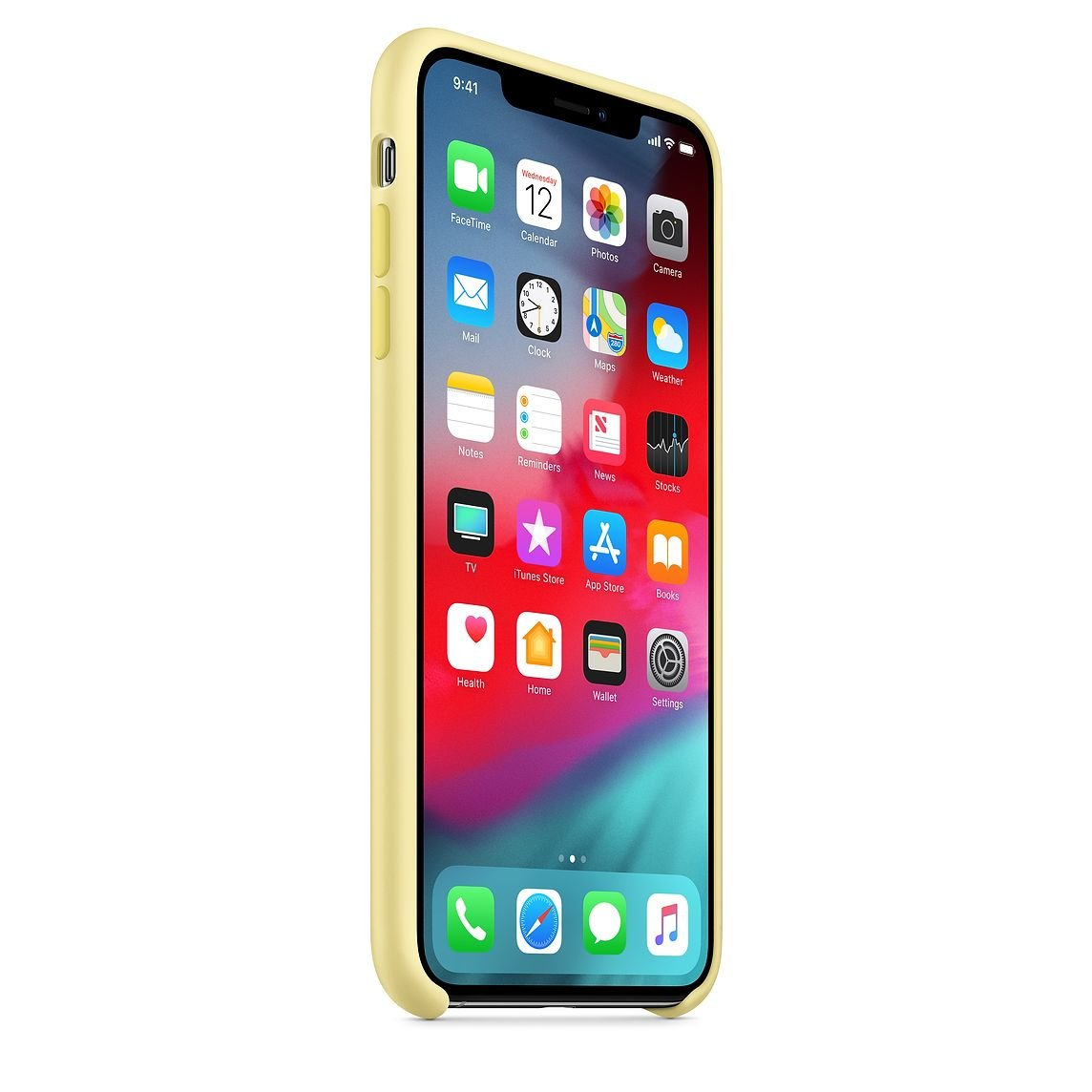 Mellow Yellow Silicone Case for iPhone XS Max