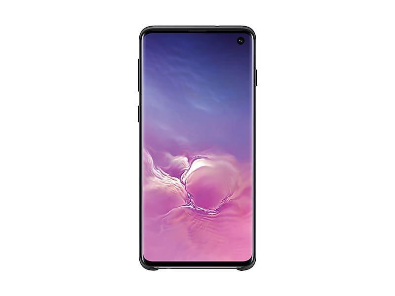 Black Silicone Cover for Samsung Galaxy S10