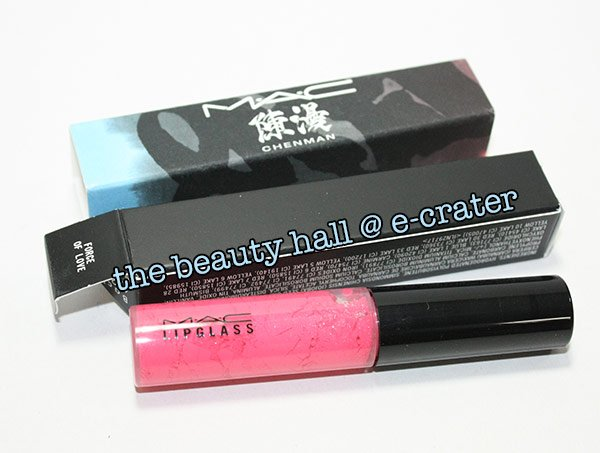 Free Shipping - FORCE OF LOVE MAC Lip Glass