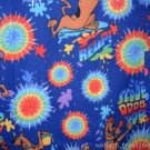 MadieBs Scooby Doo Blue   Nap Mat Pad Cover w/Name