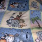 MadieBs Bazookles Fleece Toddler Baby Blanket 30x36