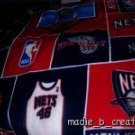 MadieBs New Jersey Nets Fleece Toddler Baby Blanket