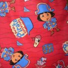 MadieBs Dora Pirate Kinder Nap Mat Pad Cover w/Name