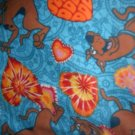 MadieBs Scooby Doo Hearts  Custom  Pillowcase  w/Name