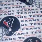 MadieBs Houston Texans Custom  Pillowcase  w/Name