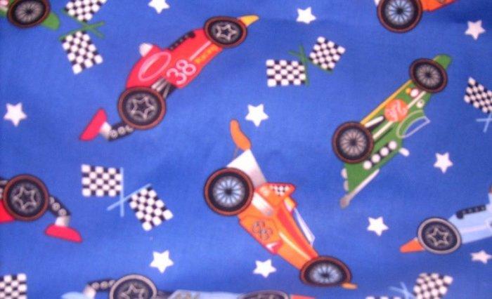 MadieBs Speedway Racer Casr Custom  Pillowcase  w/Name