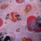 MadieBs Looney Tunes Pink Custom Pillowcase  w/Name